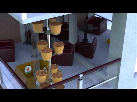 O2-Vertical Garden system-Balcony version