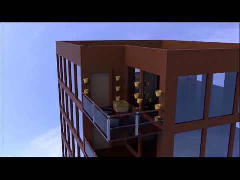O2-Vertical Garden system-Wall flower holder