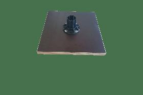 Hordozható-Impregnált lapra szerelt oszlop tartó