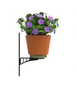 Fali virágtartó-konténerrel