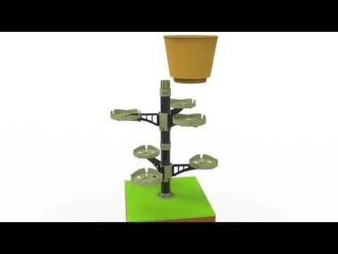 Vertical Garden-Parts/virágcserép