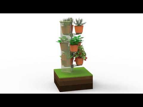 Vertical Garden  3 x 3