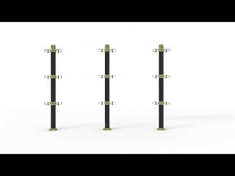 O2-Plant Cordon system-Starter pack / 3x3