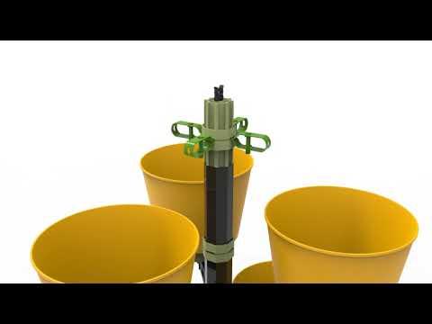 Vertical Garden-Parts/drót+