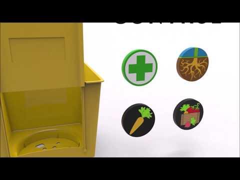 O2-Vertical Garden system-Extra container