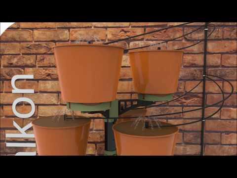 Vertical Garden-watering